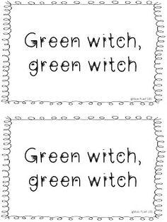 Free Halloween Reader :)