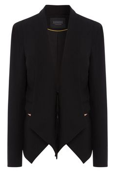 Fayer Women's Black Blazer #ElevenParis Fall/Winter '14