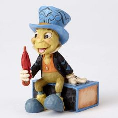 PRE-ORDER: Jiminy Cricket miniature figurine (Jim Shore) from Fantasies Come True