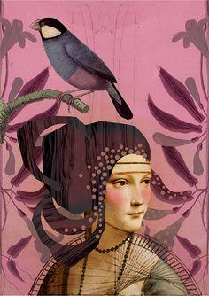 Plum Lady by Anahata Katkin