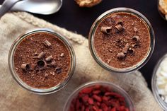 Chocolate Chia Seed Superfood Pudding – Gluten-free and Vegan