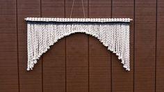 Large Macrame Wall Hanging / Fringe by WallHuggerHandmade on Etsy