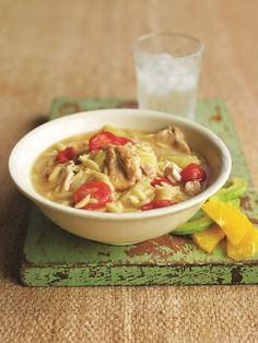 Cuban Style Chicken Soup from 80 Recipes for Your Pressure Cooker - Serge the Concierge