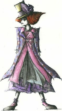 Fashion- drawing- papel- colors- pencil