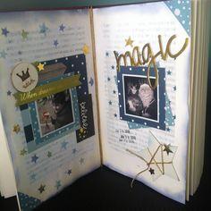 Album Scrapbook, Scrapbook Journal, Snail Mail Flipbook, Diy And Crafts, Paper Crafts, All Paper, Book Projects, Studio Calico, Smash Book