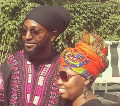 Men and women can rock a head wrap