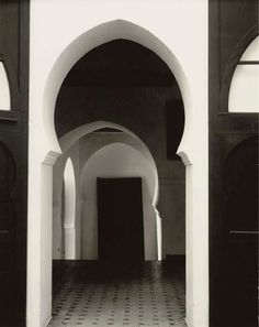 Paul Strand, Tangier Morocco, 1962  This reminds me of a story I used to love