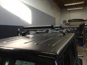 Jeep with track, Whispbar and Thule ski rack Ski Rack, Skiing, Jeep, Flat Screen, Track, Ski, Flat Screen Display, Runway, Track And Field