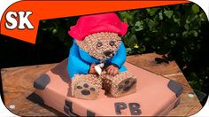 PADDINGTON BEAR CAKE - Part 1 Suitcase. Ours Paddington, Cake Pops, Bear Cakes, Third Birthday, Cupcakes, How To Make Cake, Cookies, Great Recipes, Cake Decorating