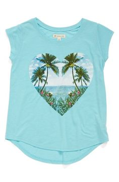 Tucker+++Tate+High/Low+Graphic+Tee+(Big+Girls)+available+at+#Nordstrom