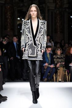 Balmain Fall 2012 - amazing jacket