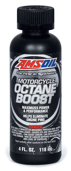 Motorcycle Octane Boost - Click on Picture - or visit www.amsvs.net