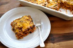 TexMex Lasagna TexMex Lasagna Ingredients 1 pound ground beef 1 small ...
