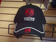 Dodge Truck Hat w/Ram Logo...Come on in to Tucson Dodge at 4220 E 22nd St. SW Corner of 22nd & Columbus...or call 745-7915.