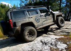 4x4 OFF-ROAD OVERLAND ADVENTURE - Hummers Climbing Rocks in Ardbeg CANADA