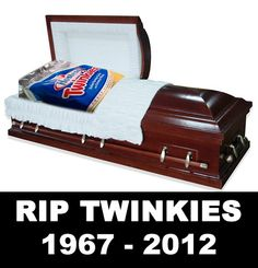 The end of the Twinkie.