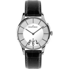 Jacques Lemans London 1-1747C 30mm Stainless Steel Case Leather Mineral Women's Watch | Your #1 Source for Watches and Accessories