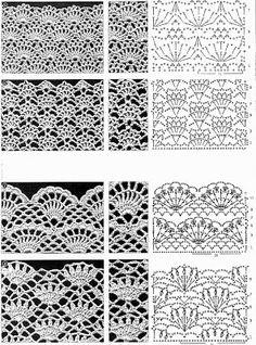 Watch This Video Beauteous Finished Make Crochet Look Like Knitting (the Waistcoat Stitch) Ideas. Amazing Make Crochet Look Like Knitting (the Waistcoat Stitch) Ideas. Filet Crochet, Crochet Stitches Chart, Crochet Motifs, Crochet Diagram, Thread Crochet, Knitting Stitches, Crochet Lace, Crochet Patterns, Irish Crochet