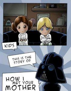 how I met your mother starwars