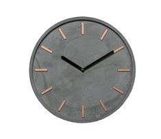High-quality concrete clock wall clock in Grau Kupfer time modern wall decoration. With thisexceptional watch emphasize your good taste. Thepoured concrete wall clock is a real eye-catcher and do something right here. | eBay!