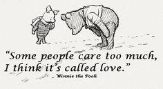 Pooh Bear ... my second love!