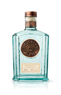 Brooklyn Gin - cool bottle to reuse