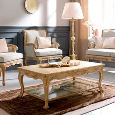 3645/1 Coffee Table, Traditional Living Room Design at Cassoni