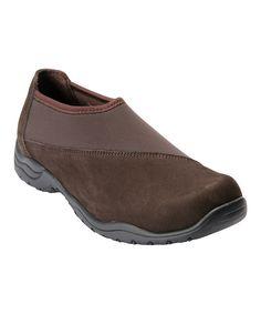 Brown Amora Leather Walking Shoe