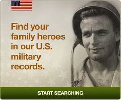 This Veterans Day, find your family heroes in our U.S. military records. #genealogy #military