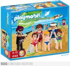 Playmobil Rio de Janeiro