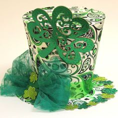 St Patricks Day hat green 7 Irish hat by partydreams on Etsy, $26.00