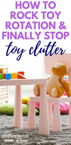 Overwhelmed with toy clutter? Learn how you can effectively tackle toy clutter with five simple steps and get your kids to love their old toys again.
