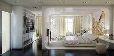 Спальня объединенная с лоджией - Дизайн интерьеров | Идеи вашего дома | Lodgers