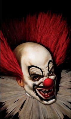 Por @ma7heuspessoa - Palhaço, nunca entendi o meu medo, só sei que tenho. Como alguém pode ver graça naquele monstro?