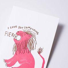lovey lion