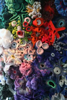 Stitchlily: Finally, The Hyperbolic Crocheted Coral Reef Exhibition