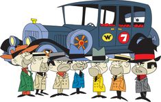 wacky races characters - Google Search