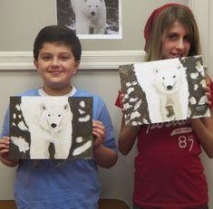 Polar Bear Art lessons