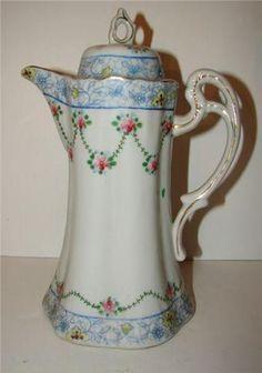 vintage chocolate pots - Google Search