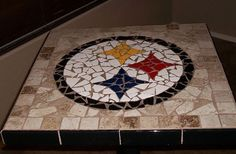 Steelers pub table for game room