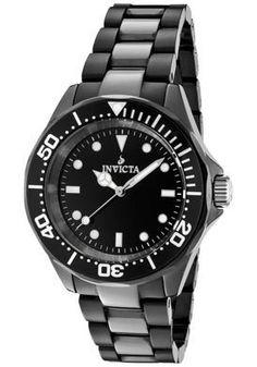 Invicta Watch Ceramics Black Dial...     $192.99