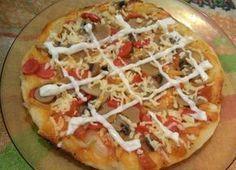 Resep Pizza Teflon Tanpa Ulen Dan Cara Membuat Pizza Teflon Anti Gagal Lengkap Olahan Roti Pizza Serta Res Makanan Dan Minuman Makanan Ringan Sehat Ide Makanan