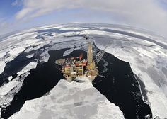 The Sakhalin II offshore platform, Russia. Photo courtesy of Shell