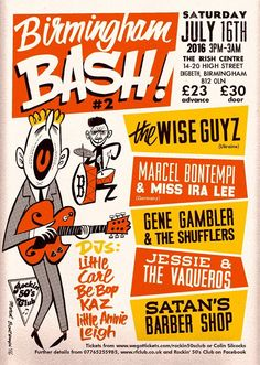 Rock`n Roll,Blues,Country and Americana Rock N Roll, Blues, Posters, Graphics, Type, Retro, Country, Music, Modern