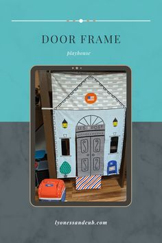 [Ad] My son loves his door frame playhouse, which is a veterinary's clinic on one side and a U.S. Post Office on the other side. It came with a mailbox, letters, postcards, a parcel, and stamps with Velcro. We put it under the stairs, where it fit perfectly to separate off a little nook for him to play in. Buy Toys, Son Love, Under Stairs, Toys Online, Tummy Time, Toddler Toys, Post Office, Little People, Play Houses