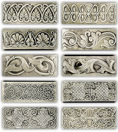 FLORAL JEWERY LITTLE BOXES 2    Some floral little jewelry boxes. 20 x 8 x 4 cm.    Embossed (repousse) jewelry boxes.    There are many measures and a great variety of motifs and designs based in historical ornaments from all ages and my own designs.    Like in all my works you can choose all the parts of the embossing design, including main motif, names, dedications, date… and all you want to include.