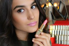They celebrate Color Riche's 30 anniversary and the Loreal Paris, Your Lips, My Beauty, Best Makeup Products, Lipstick, Celebrities, Rose, Color, Lipsticks