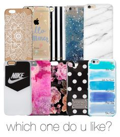 """IPhone cases"" by erindembo on Polyvore featuring MICHAEL Michael Kors, Agent 18, NIKE and Kate Spade"