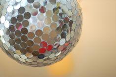 How to Make a Disco Ball Pinata   Tikkido.com