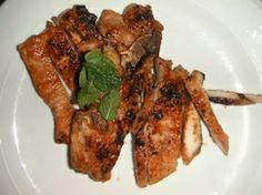 Côtes de porc à la thaïlandaise (recipe in French)